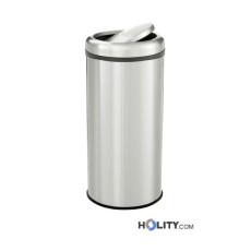 Abfalleimer aus Edelstahl für Großküchen h220_266