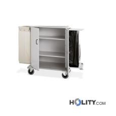 Wäschewagen mit Türen für Hotel h22100