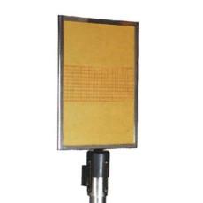 A4 Anzeigetafel für Gurtpfosten H2212