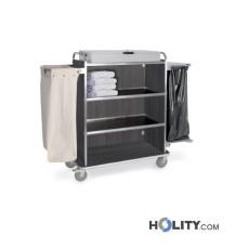 Wäschewagen mit 4 Regalböden h2291
