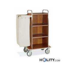 Wäschewagen mit 3 Seitenwänden h2293