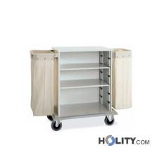 Wäschewagen aus Stahlblech h2294