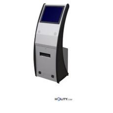 Totem Info-Point mit Laser Tastatur h27202