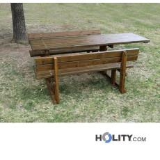 Picknicktisch mit erleichtertem Zugang h285_13