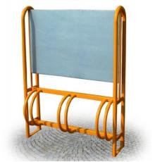 Fahrradständer verfügbar in zwei Farben  h28762