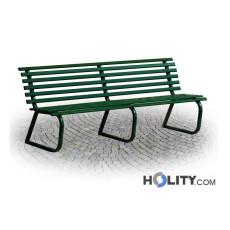 Sitzbank als Stadtmobiliar 200 cm h28769