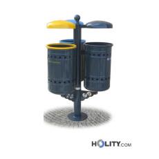 Abfallbehältersystem zur Mülltrennung h28788