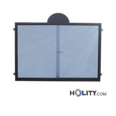 Werbe-/Infotafel aus Metall zur Wandbefestigung h287_143