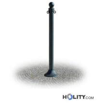 Stahlrohrpoller als Stadtmobiliar h287_159