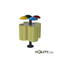 Recyclingstation-mit-4-Körben-h287_245
