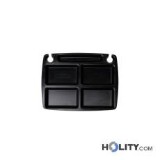 Mini Tablett mit Fächern h30317