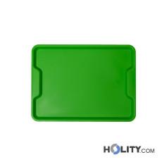Ergonomisches Tablett für Fast Food, 40 Stück/VE h30319