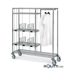 Wagen für die Wäscheverteilung im Krankenhaus h31510
