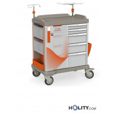 Medizinischer Notfallwagen für Krankenhäuser h31522