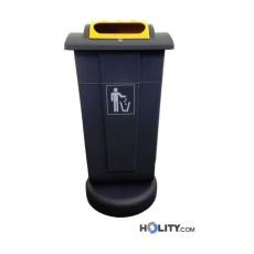 Abfallbehälter aus Polyethylen mit 65 Liter h32635