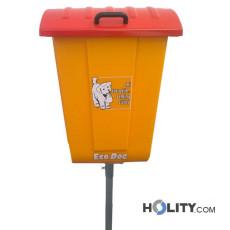 Mülleimer für Hundekot h326_49