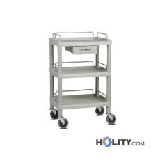 Medikationswagen für Krankenhäuser mit 3 Ebenen h333_06
