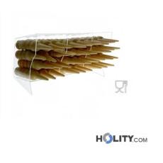 Horizontaler Eiswaffelständer für Eisdielen h33941