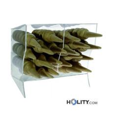 Horizontaler Eiswaffelständer für Eisdielen h33943