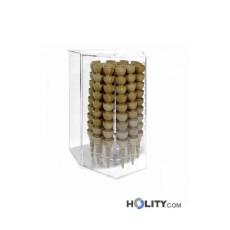 Eiswaffelständer aus Plexiglas für Eisdielen h33945