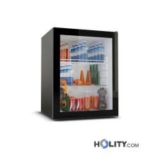 Minibar mit Kompressorsystem und Glastür 60 Liter h3433