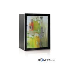 Minibar für Hotels und Büros mit Glastür 38 Liter h3435