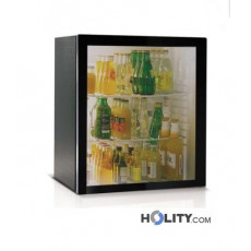 Minibar mit Absorptionskühlung und Glastür 55 Liter h3450