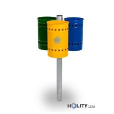 Abfallbehältersystem zur Mülltrennung h35001