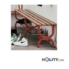 panchina-per-spogliatoio-senza-schienale-in-acciaio-verniciato-e-faggio-2m