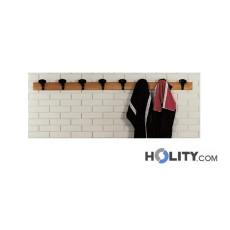 Wandgarderobe für Umkleideräume h3618