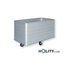 Wäschewagen für Krankenhaus h41021