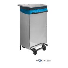 Mülleimer aus Edelstahl für Großküchen h413_80