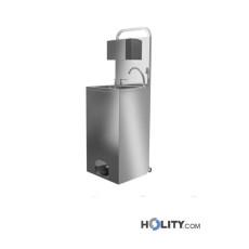 Mobiles Handwaschbecken/Desinfektionsmittelspender h418_102