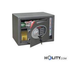 Sicherheitstresor mit elektronischem Tastenschloss und zusätzlichem Einwurfschlitz h4216