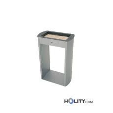 Aschenbecher für den Aussenbereich, verzinkter Stahl h42427