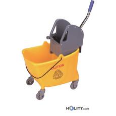 Professioneller Reinigungswagen mit Mop-Presse h438_130