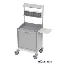 Medikationswagen für Krankenhäuser mit 5 Behältern h44603