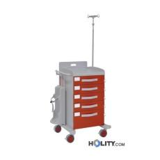 Medizinischer Notfallwagen für Krankenhäuser h44815