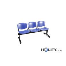 3-er Sitzbank für Wartezimmer h44916