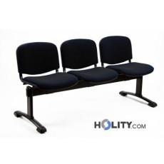 3-er Sitzbank für Wartezimmer h44927