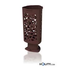Abfallbehälter aus Kunststoff mit 60 Liter Volumen h465_01