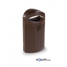 Abfallbehälter aus Kunststoff h465_03