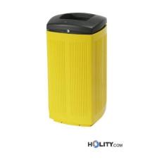 Abfallbehälter aus Kunststoff für Aussenbereich h465_04
