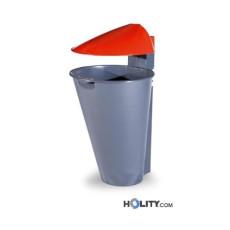 Abfallbehälter aus Kunststoff als Stadtmobiliar h465_05
