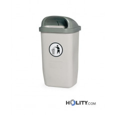 Abfallbehälter aus Kunststoff als Stadtmobiliar h465_21