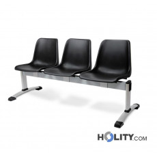 3er-Sitzbank für Wartesaal aus Kunststoff h487_05