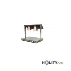 Speisenwärmer mit Infrarotlampen h488_14