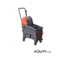 Reinigungswagen mit Doppeleimer h489_13