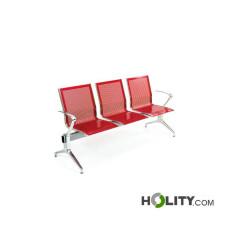 Sitzbank mit 3 Plätzen für Wartesaal h500_15