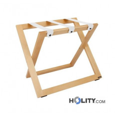Kofferablage aus Holz mit Lederriemen h514_04